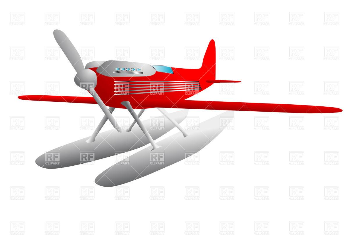 Hydroplane Vector Image #35543.