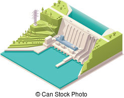 Hydroelectric Clip Art and Stock Illustrations. 2,371.