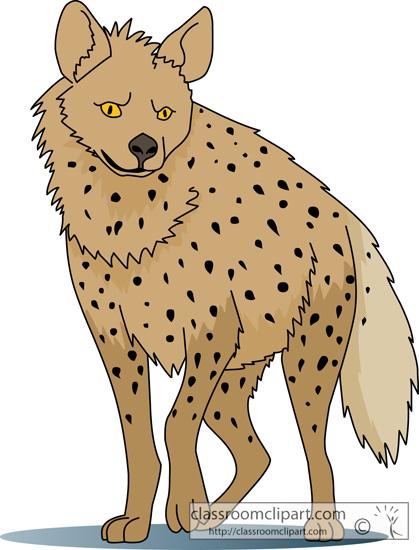 hyena clip art #3.