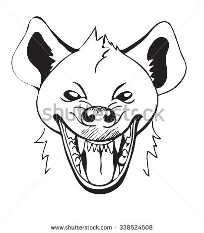 Laughing Hyena Stock Vectors, Images & Vector Art.