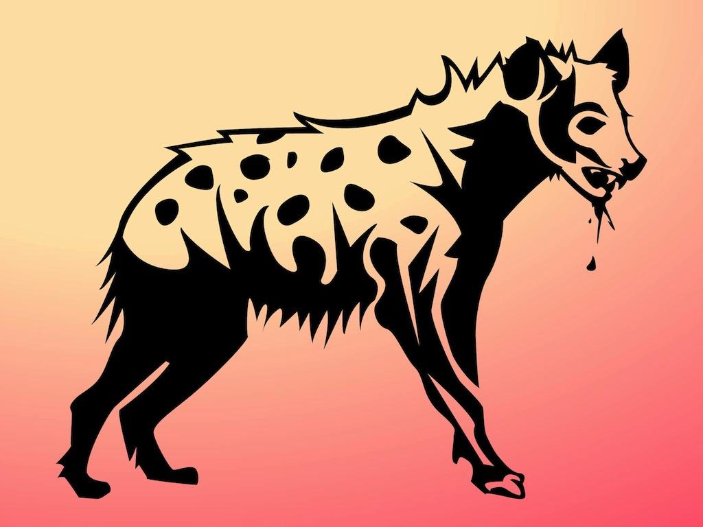Hyena Art.