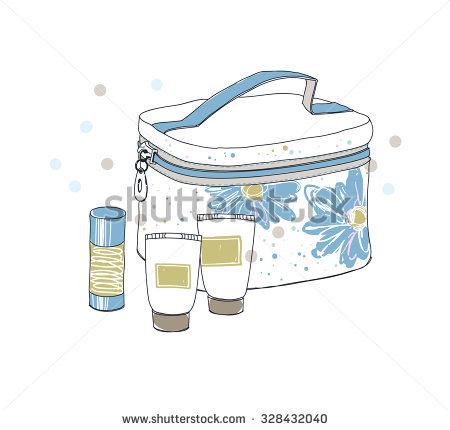 Toiletry Bag Stock Photos, Royalty.