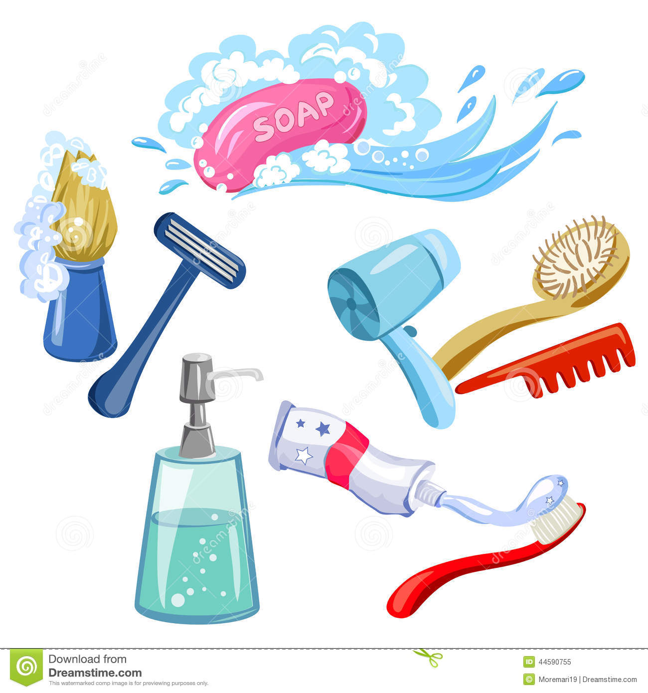 Hygiene Clipart Page 1.