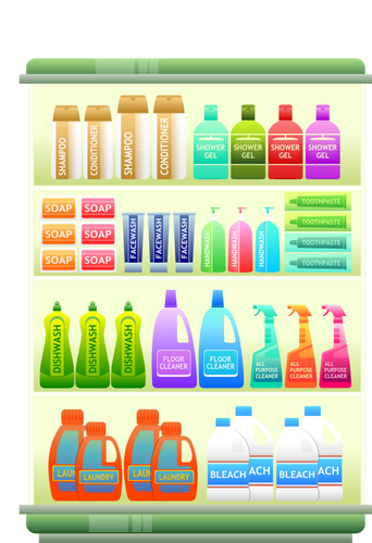 Hygiene products.