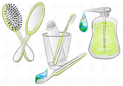Clipart Of Hygiene.