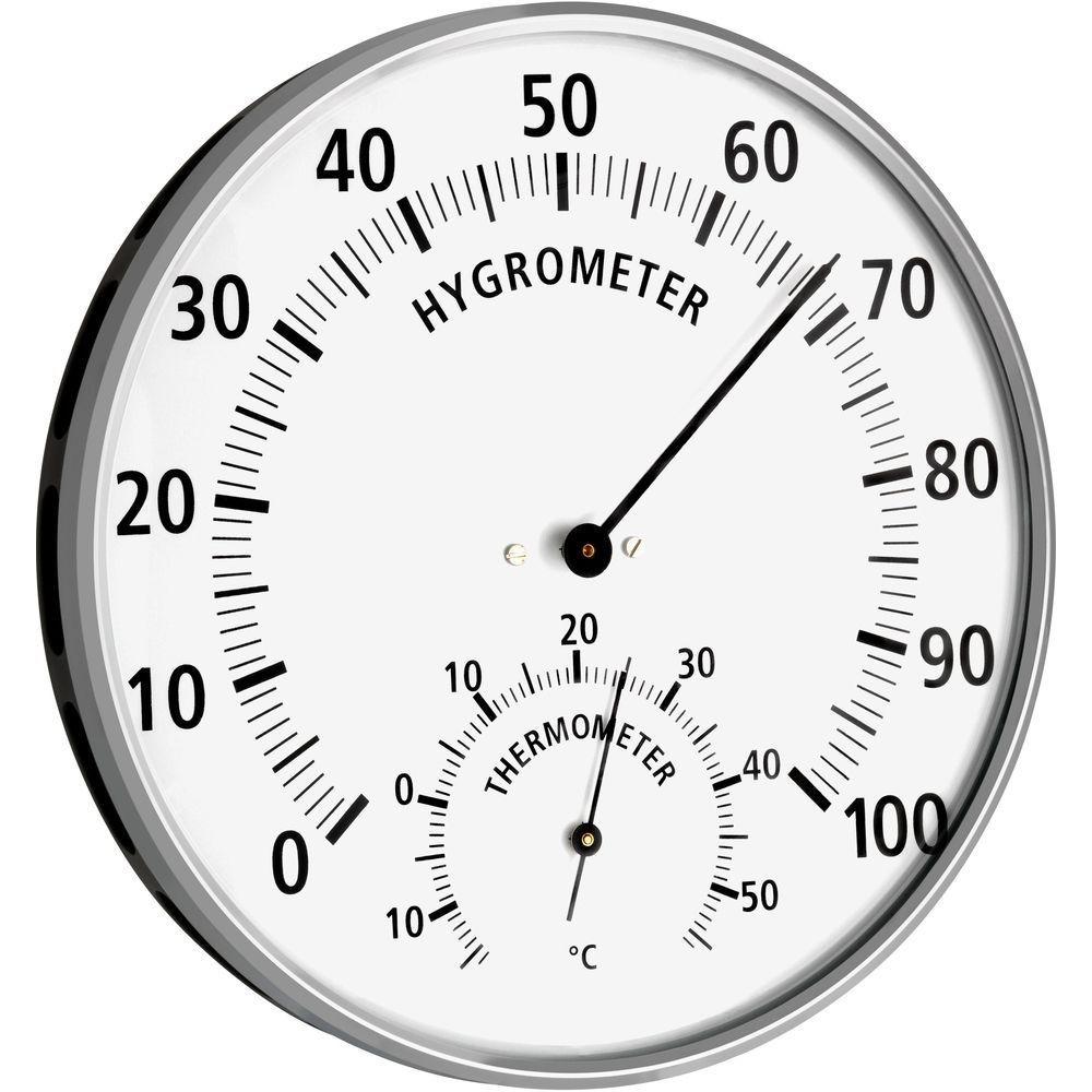 Hygrometer Hair Synthetic 13.2cm.