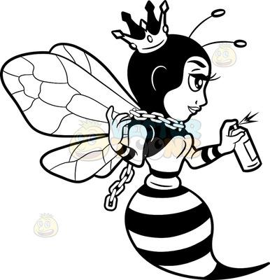 hymenopteran Cartoon Clipart.