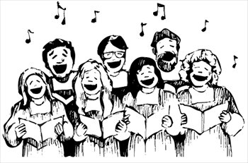 Hymn sing clipart.