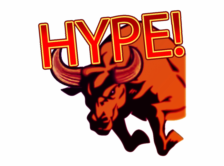 Sub Button Hype Http Stock Exchange Bull Logo.