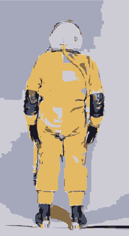 Free Clipart: NASA flight suit development images 325.