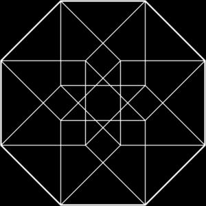 Hypercube clipart #18