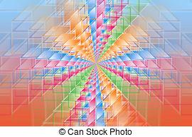 Hypercube clipart #7