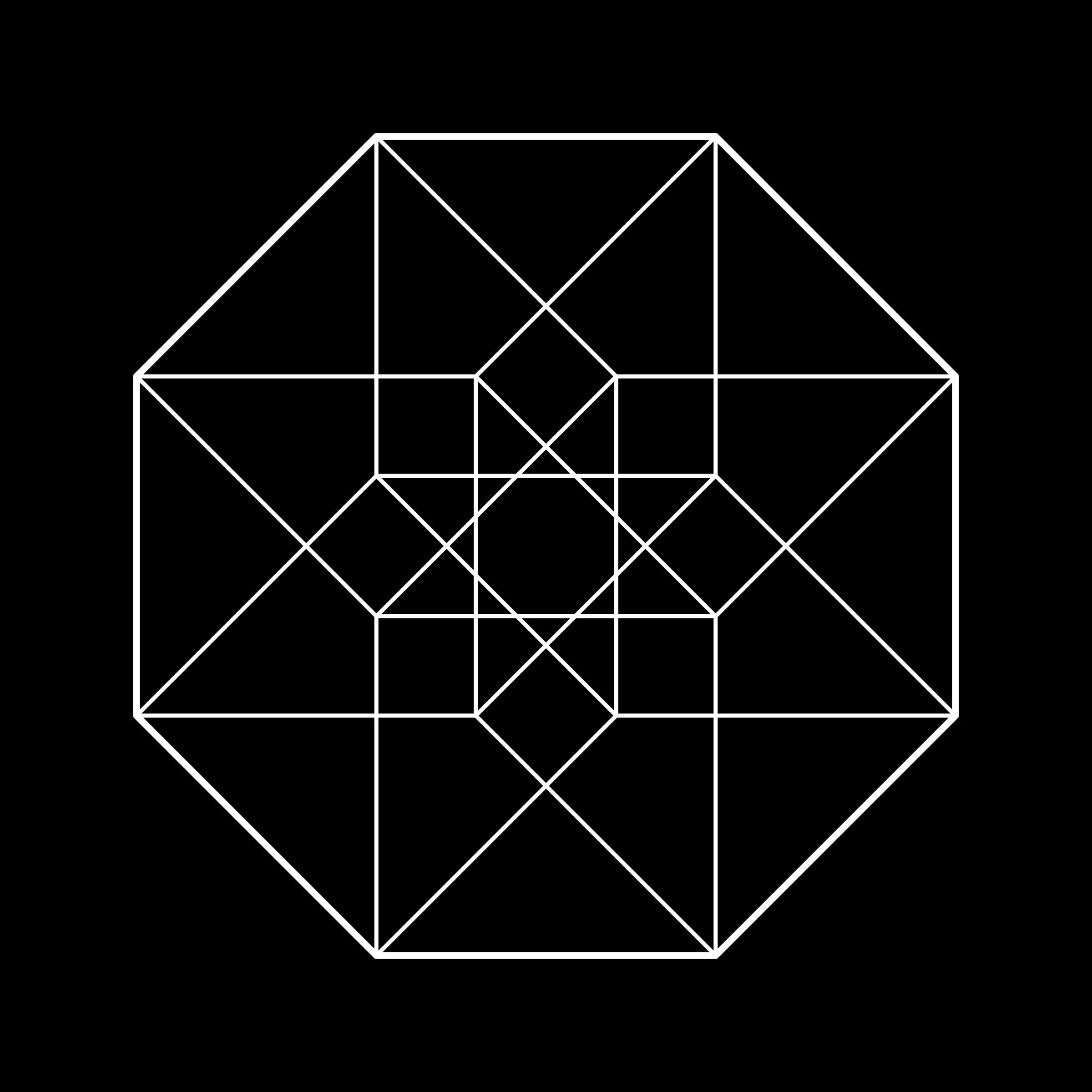 Hypercube clipart #12