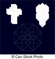 Hypercube clipart #19
