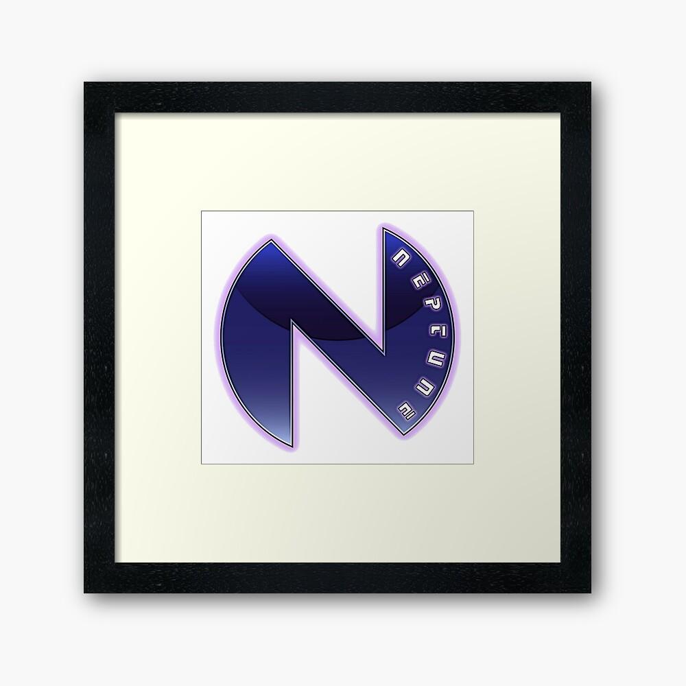 Hyperdimension Neptunia Neptune Logo.