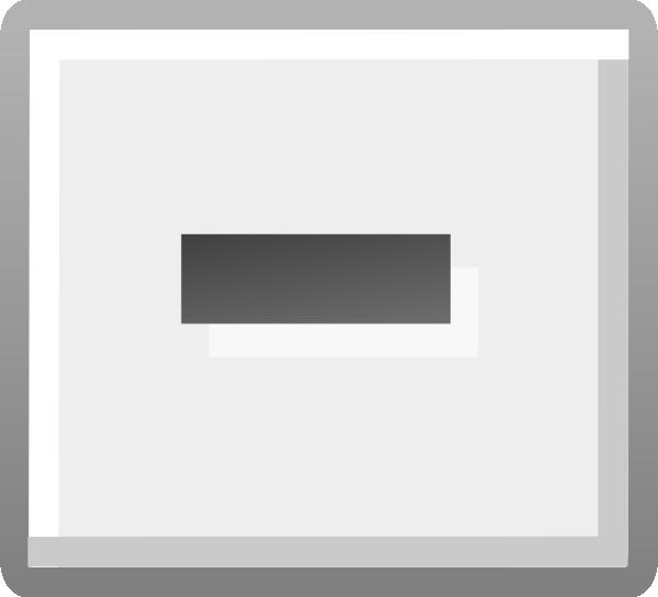 Hyphen Key Clip Art at Clker.com.