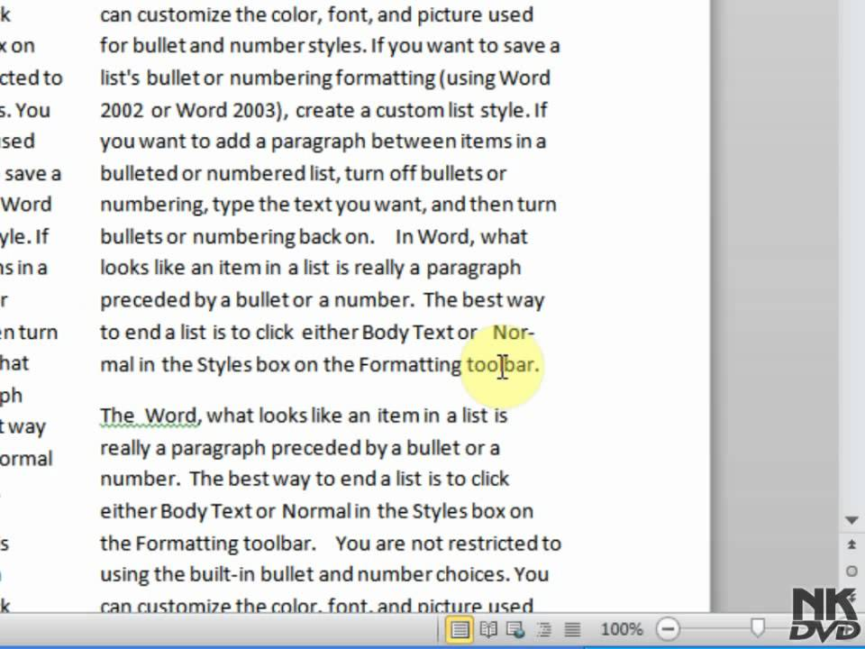 Lesson # 73 Add Hyphenation (Microsoft Office Word 2007/2010.