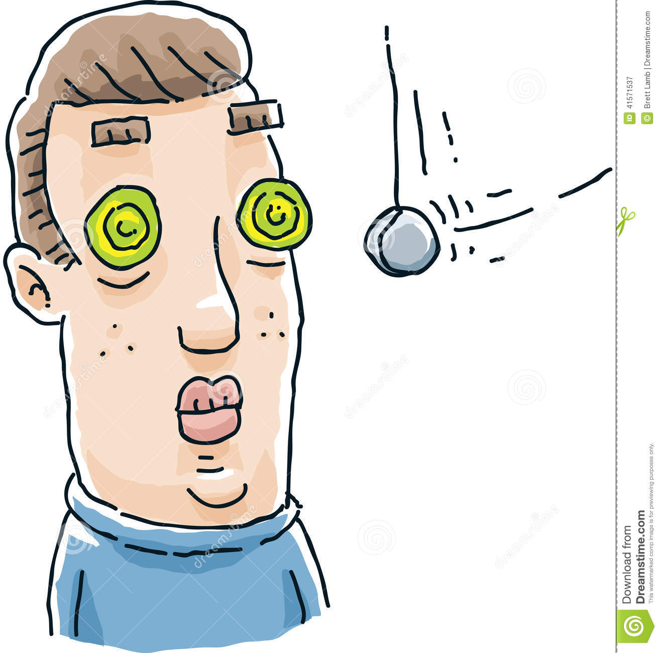 Hypnosis Stock Illustrations.