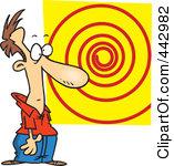 Hypnotizing clipart #16