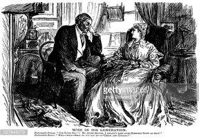 Victorian Patient and Doctor stock vectors.