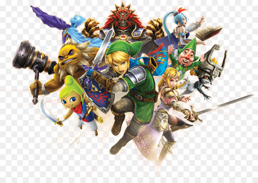 Hyrule Warriors Toy png download.