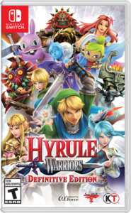 Hyrule Warriors: Definitive Edition.