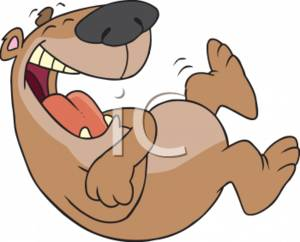 Hysterical Laughing Clipart.