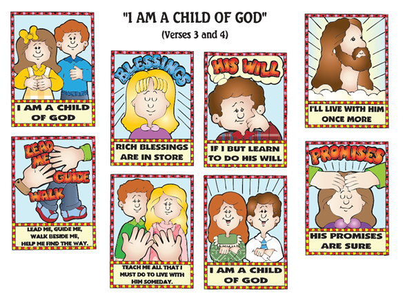 Lds Clipart I Am A Child Of God.