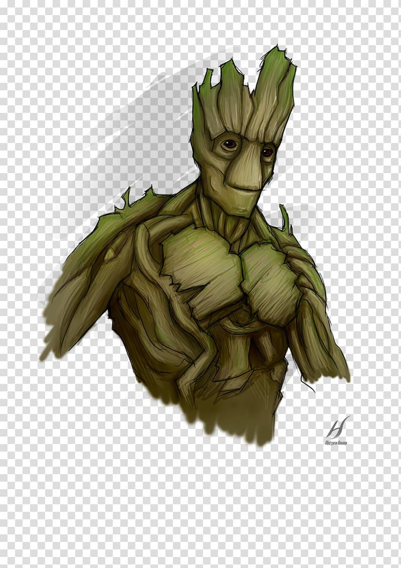 Groot Drawing Fan art Black Bolt Jon Snow, I am groot.