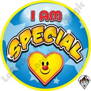 I Am Special Stickers.