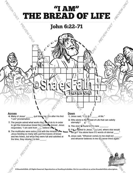 John 6 Bread of Life Bible Video for Kids.