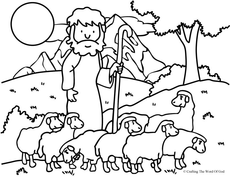 Free Good Shepherd Coloring Pages Free, Download Free Clip.