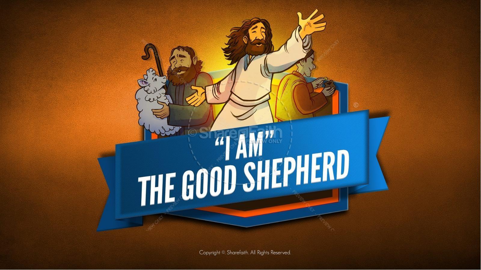 John 10 The Good Shepherd Kids Bible Stories.