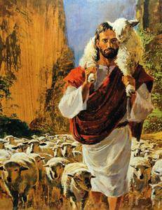 The Good Shepherd Clipart.