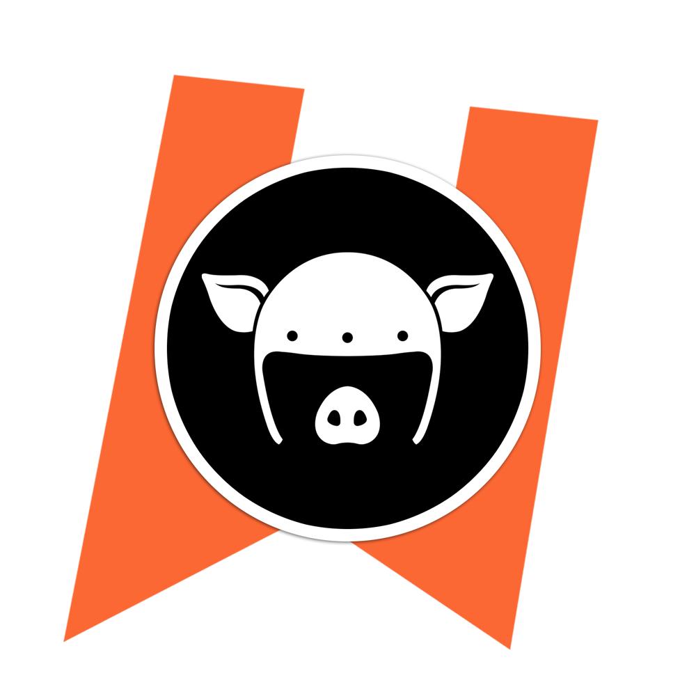 Logo Sticker (Black).
