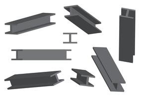 Steel Beam Free Vector Art.