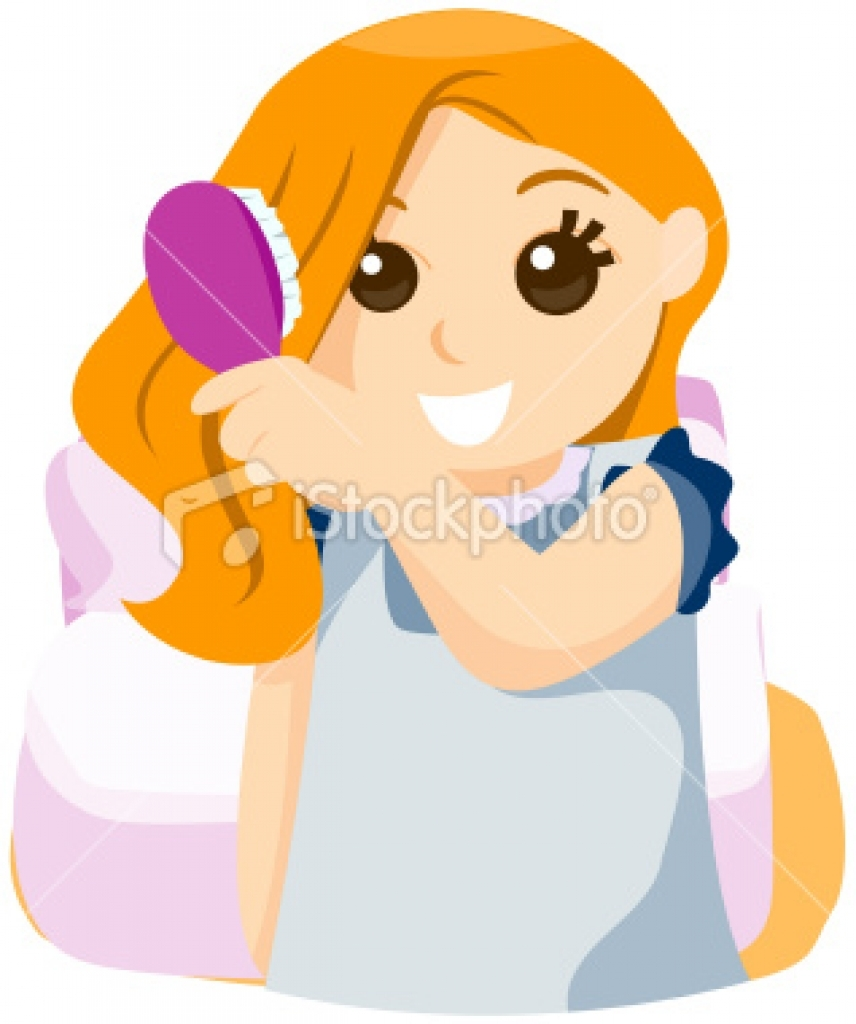 Brush my hair clipart brush my hair clipart your hair brush.