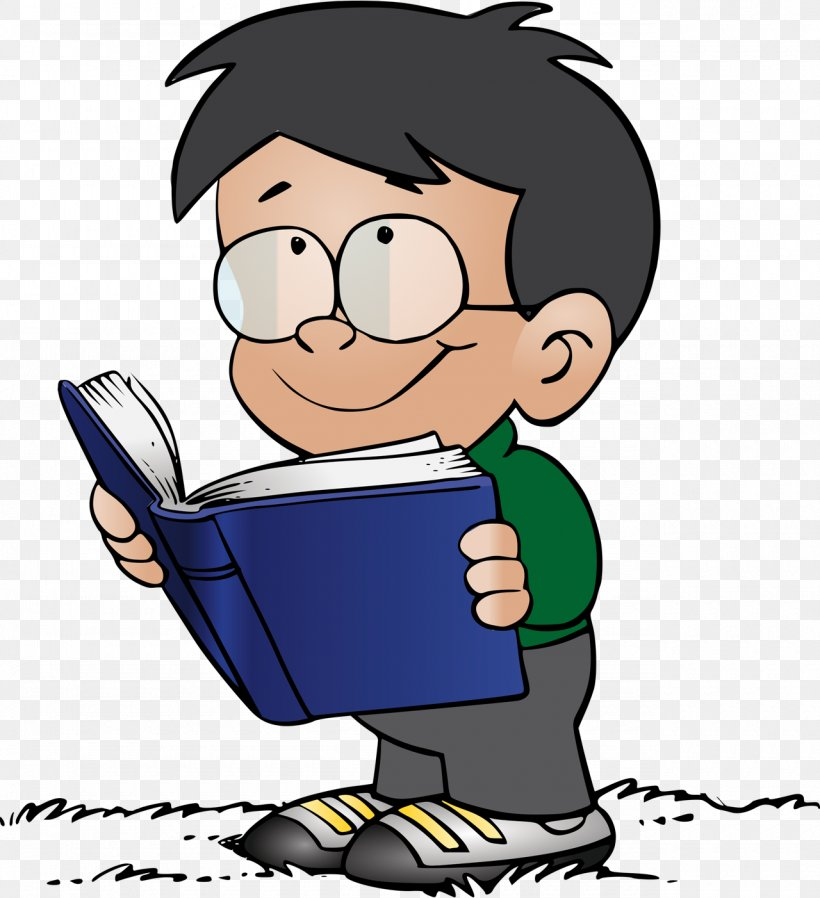 Reading Book I Can Read With My Eyes Shut! Clip Art, PNG.