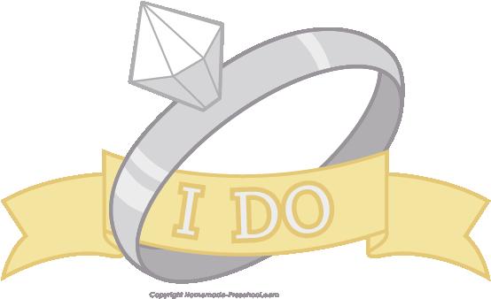 I Do Wedding Clipart.