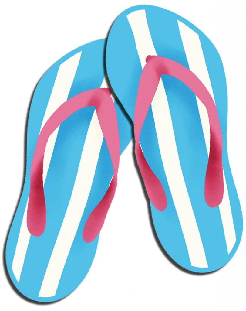 Flip Flop Clip Art New.