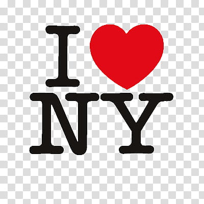 I love s, I heart NY logo transparent background PNG clipart.