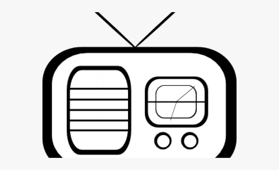 Radio Clipart Tv Radio.