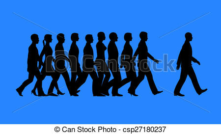 Lead by example concept Illustrations and Clipart. 22 Lead by.