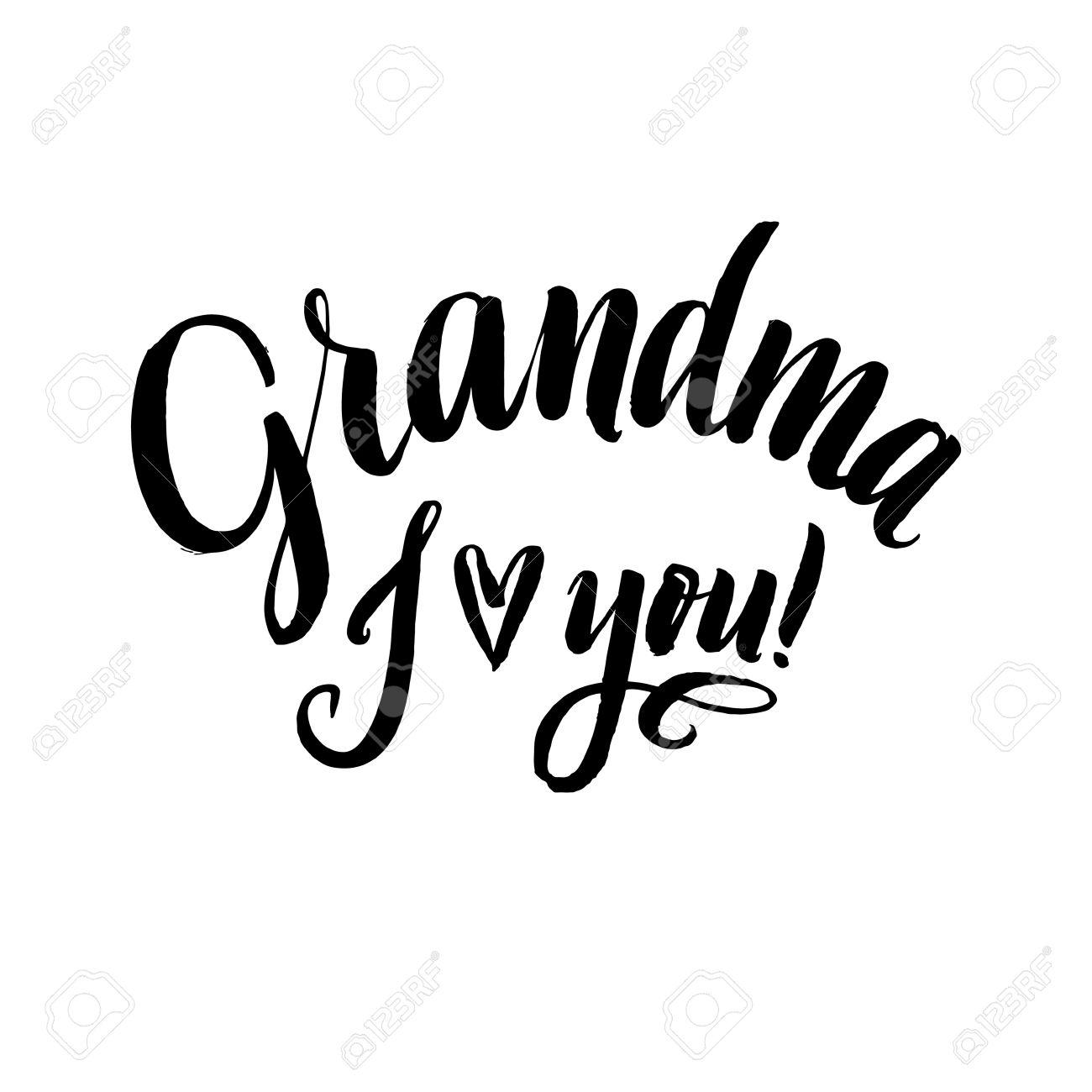 1414 Grandma free clipart.