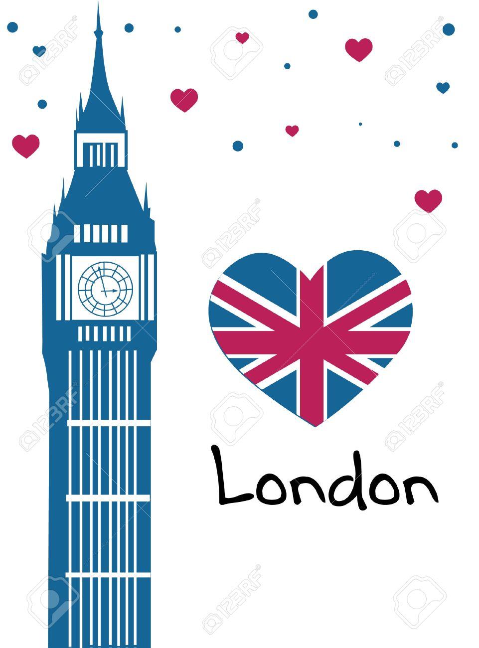 143 I Love London Cliparts, Stock Vector And Royalty Free I Love.