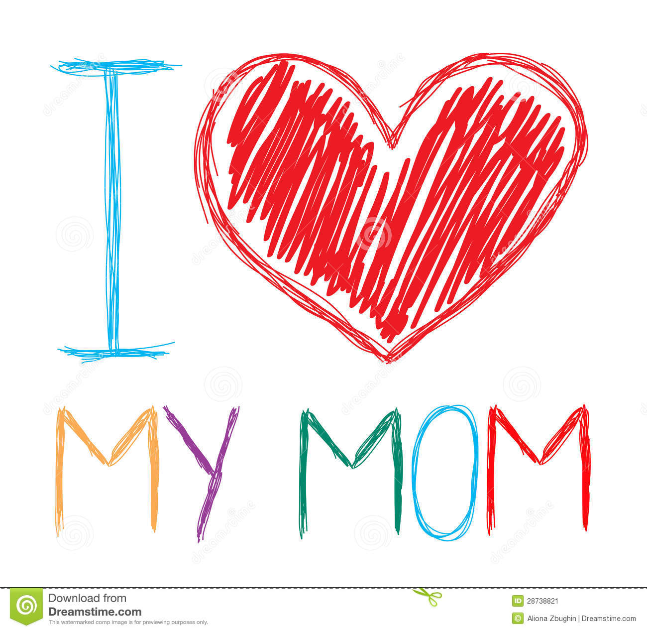 I love mom clipart 6 » Clipart Station.