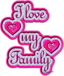 Image result for i love my family clipart.