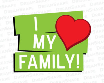 I Love My Family Clipart at GetDrawings.com.