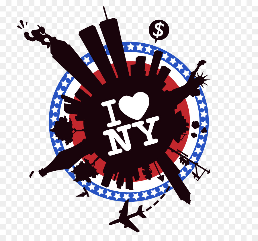 I Love New York clipart.