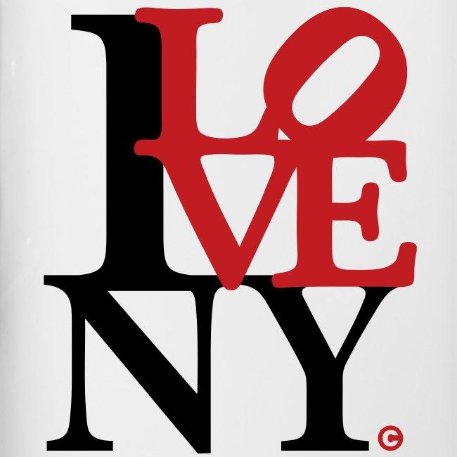 I Love New York Red Scultpure.